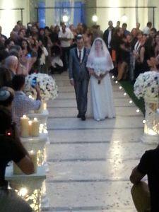 bride and groom aisle2